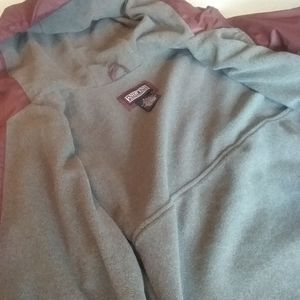 Womens fleece lined rain jacket